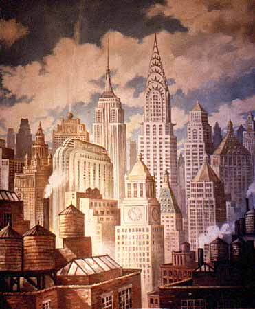 Deco City Fantasy, for Tiffany & Co.